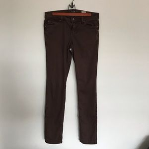 Anthropologie | Level 99 | Brown Jeans | Size 29